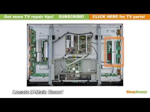 Samsung Plasma TV Repair - How to Repair and Replace a Main Board