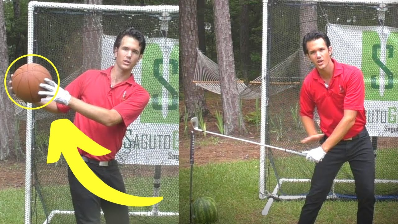 THE BEST GOLF DOWNSWING DRILL I've Ever Seen!  (Learn the ENTIRE DOWNSWING in ONE DRILL!)
