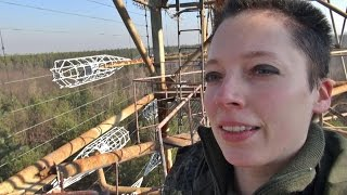 climbing and exploring Duga-3 / Дуга-3, the Russian Woodpecker / Chernobyl-2 radar site