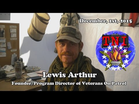 """Veterans On Patrol"" Helping Our Arizona Homeless - Interview with Lewis Arthur"
