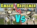 EMBER VS REDEEMER AO JUN Whats Better War Robots Mk2 Gameplay WR