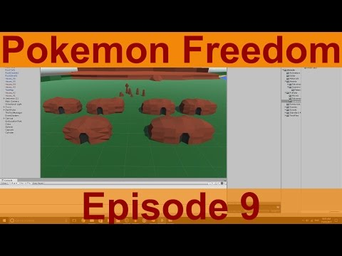 Unity Game Creation: Pokemon Freedom Ep.9 - Beginning Structures