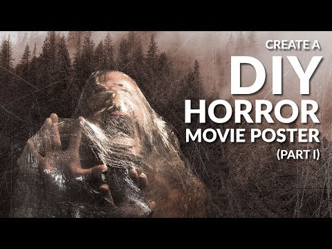 Create a DIY Horror Movie Poster | Part I, The Nest