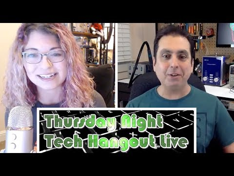Tech Hangout Live with Shannon Morse from Hak5 | Net Neutrality Update 2018 | Hacking and More