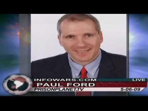 Texas Councilman Paul Ford on Alex Jones Tv (Red Light Cameras) 1/2