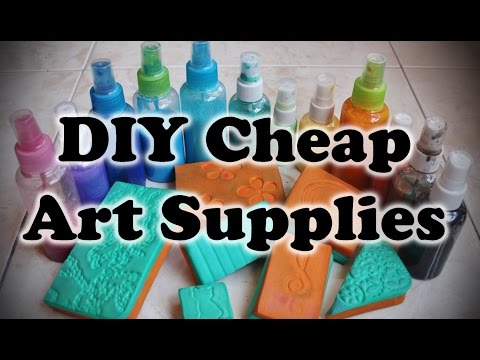 DIY Cheap Art Supplies