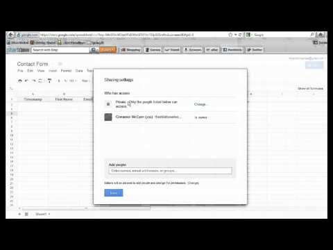 How to Create Forms with Google Docs