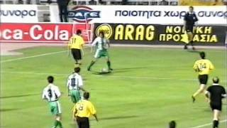 PANATHINAIKOS-aek (1993-94) KYPELLO 3-3 (PENALTY 4-2)
