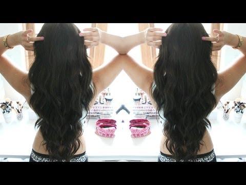 Mermaid Curls (Kim Kardashian Inspired)