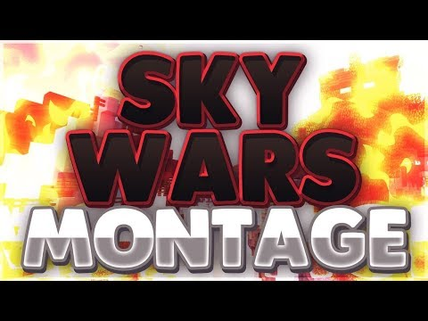I Am Officially Back! | Sky Wars Montage - Hypixel