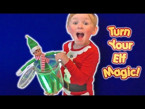 Make Your Elf on the Shelf Magic | DavidsTV