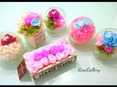 [RosaGallery] How to make a DIY preserved flower crystal ball