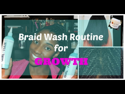 Box Braid Wash Day Routine for Growth | Edge Entity, Girl + Hair & More!