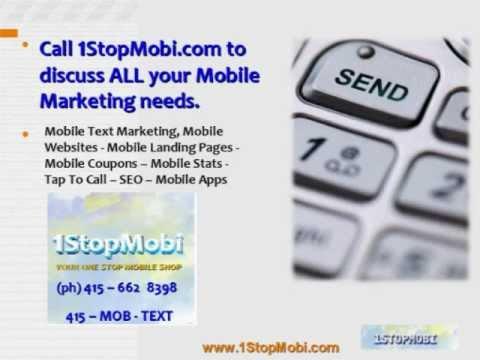 Mobile Marketing South Florida, USA, UK - 415-662-8398 - Call Now