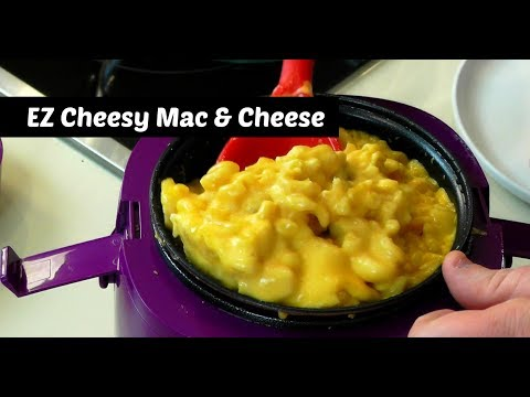 EZ Cheesy Mac & Cheese ~ Perfect Cooker by Cook's Essentials ~ Amy Learns to Cook