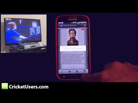 Samsung Galaxy S4 TV Remote Demonstration