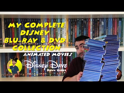 My Complete DISNEY Blu-Ray & DVD Collection: Animated Movies