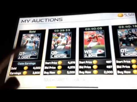 Madden 25 iOS pack opening with a awesome pull