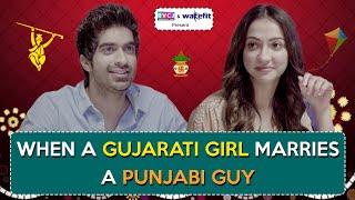 When A Gujarati Girl Marries A Punjabi Guy | Ft. Keshav Sadhna & Hira Ashar | RVCJ