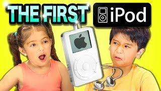 KIDS REACT TO 1ST iPOD