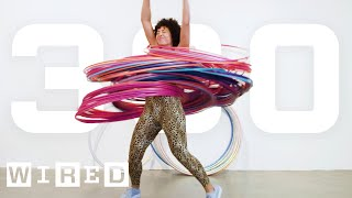 Why It's Almost Impossible to Spin 300 Hula Hoops At Once   WIRED