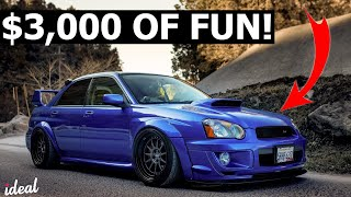 5 FUN FIRST CARS FOR UNDER $3,000