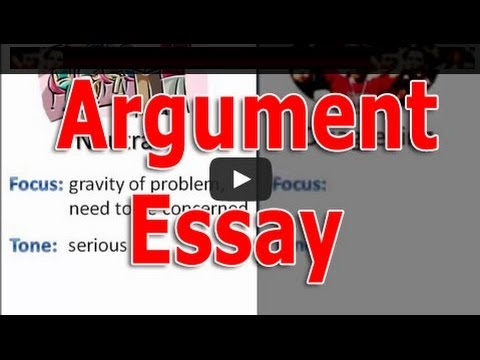 How to Write an Argument Essay: A Persuasive Paper with Arguments