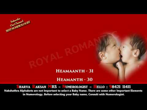 Boy Baby Name Starting With H 2 9842111411 Hindu Indian Tamil