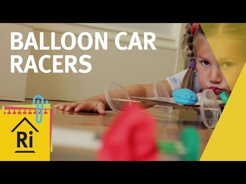 Balloon car racers - ExpeRimental #6