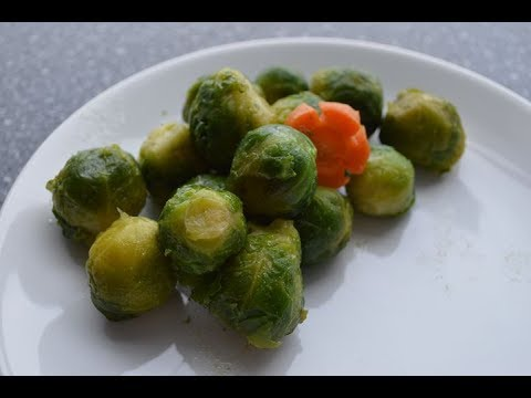 How to BOIL BRUSSEL SPROUTS