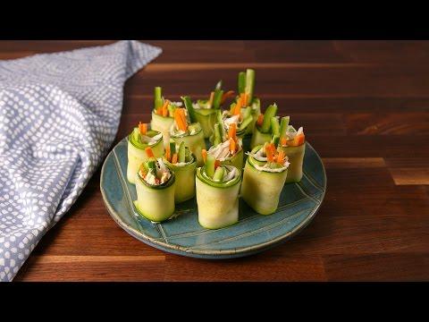 Zucchini Sushi   Delish