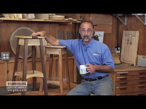Woodworking Projects - Making a Stool Sample