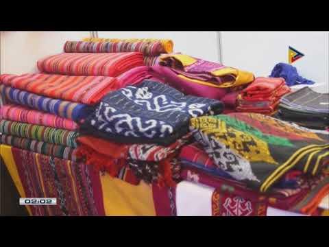 Ilang mga produktong Pinoy mula Mindanao, ibinida sa 7th Likhang Habi Market Fair sa Makati