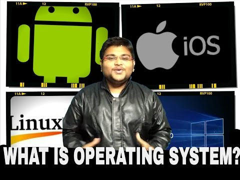 OPERATING SYSTEM CONCEPT, SERVER OS, CLIENT OS, BEST OS FOR PC & MOBILE