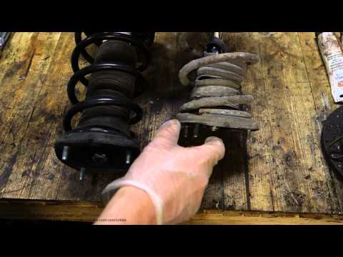 How to improve Toyota Corolla rear suspension and springs. Years 1991 to 2007.
