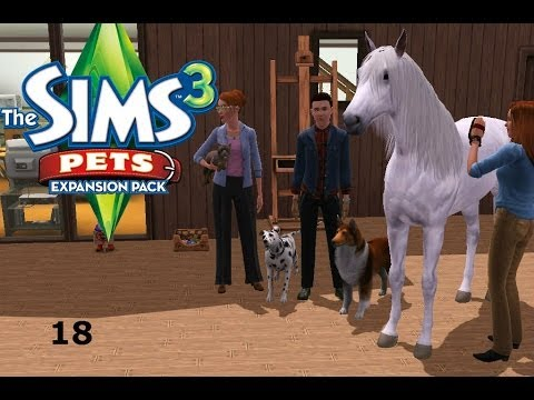 Let's Play: The Sims 3 Pets - (Part 18) - Gardening!