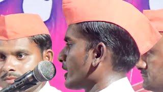 Best Classical Abhang with Best Harmonium by SakharDoh Bhajan Mandal at Gadegaon Spardha भजन स्पर्धा