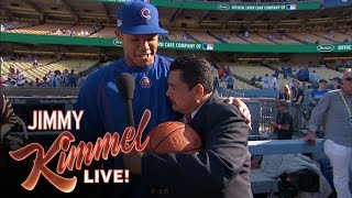 Guillermo Visits the Dodgers and the Cubs
