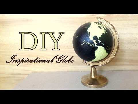 DIY Inpirational Globe  (Guest Book Wedding Idea) | by Fluffy Hedgehog