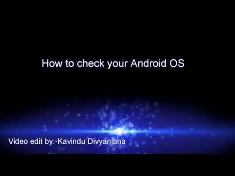 Check your Android OS