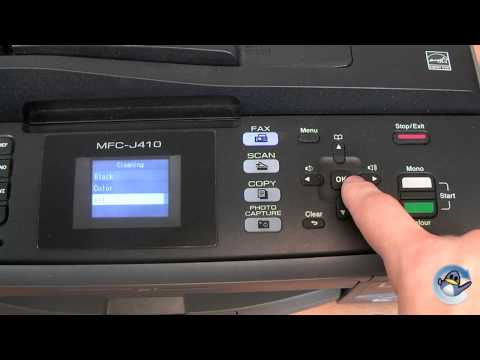 How to do Head Cleaning in a Brother MFC-J410W Printer