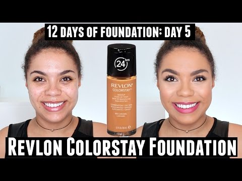 Revlon Colorstay Foundation Review (Oily Skin) 12 Days of Foundation Day 5