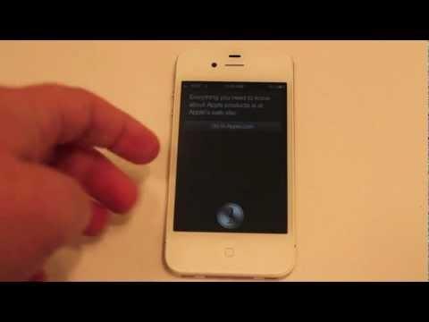 iPhone 4S Siri Demo