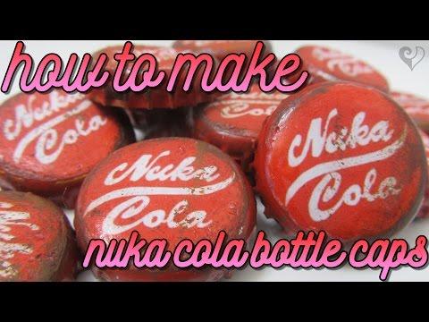 DIY Nuka Cola Bottle Caps