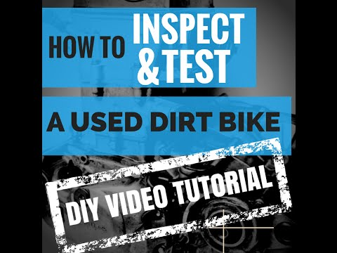 Tips on Buying a Used Dirt Bike - How To Video Tutorial