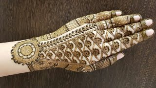 Hv Creations Of Henna Design For Backside 6 Official Heena Vahid