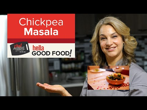 Chickpea Masala