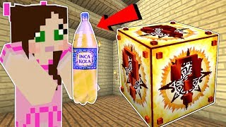 Minecraft: INCA LUCKY BLOCK!! (SUPER SODA, LUCKY STATUES & MORE!) Mod Showcase
