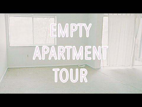 EMPTY APARTMENT TOUR!