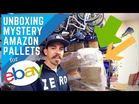 Unboxing Amazon Returns Mystery Pallet for Resale on Ebay! (better than BULQ)
